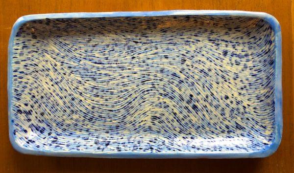 Polly Castor Sgraffito Pottery