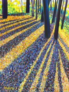 Long Shadows at Huntington Park by Polly Castor