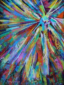 Epiphany (pastel) by Polly Castor
