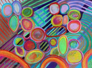 Respiration (pastel) by Polly Castor