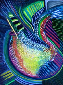 My Cup Runneth Over (pastel) by Polly Castor