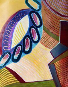Color Harmony (acrylic) by Polly Castor