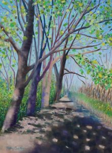 Spring Forward (pastel) by Polly Castor