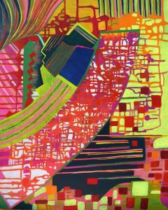 Motherboard (acrylic) by Polly Castor