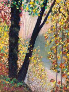 Fall in Rain by Polly Castor