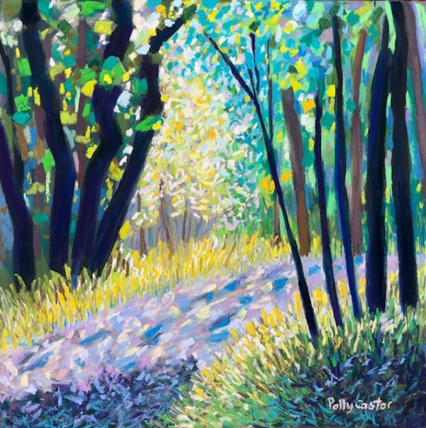 Woodland Light in July by Polly Castor