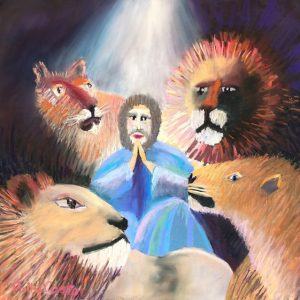 Daniel and the Lion's Den by Polly Castor