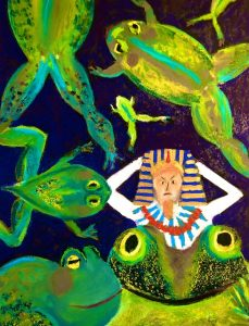 Pharaoh and the Frogs by Polly Castor
