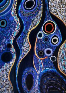 Insinuations (pastel) by Polly Castor
